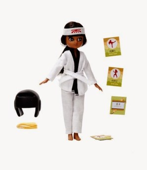 kawaii karate lottie doll 1